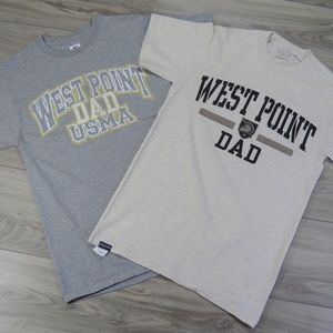 West Point DAD Lot of 2x Short Sleeve T-Shirts